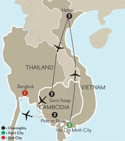 Flavors of Vietnam & Cambodia with Phnom Penh