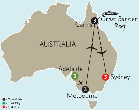 Australian Escape with Adelaide
