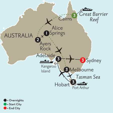 Southern Australia Explorer with Cairns & the Outback
