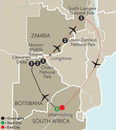with Zambia's National Parks