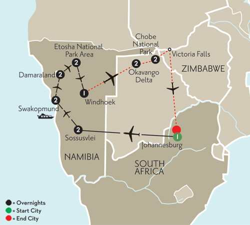Essence of Namibia with Botswana