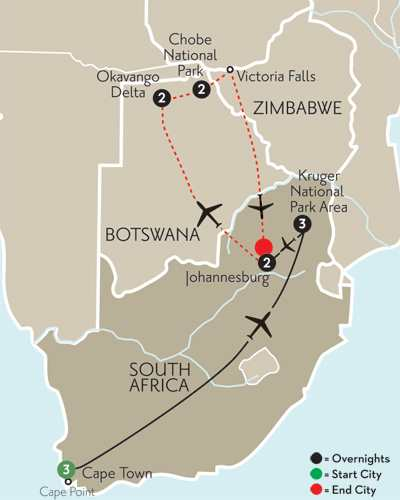 South African Sojourn with Botswana
