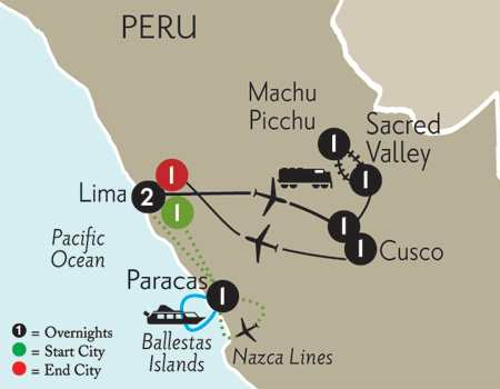 Peru Highlights with Nazca Lines