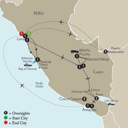 with Peru's Amazon & Arequipa & Colca Canyon