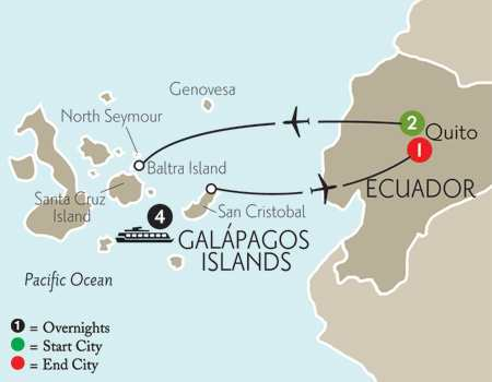 Cruising the Galápagos on board the Galápagos Explorer II