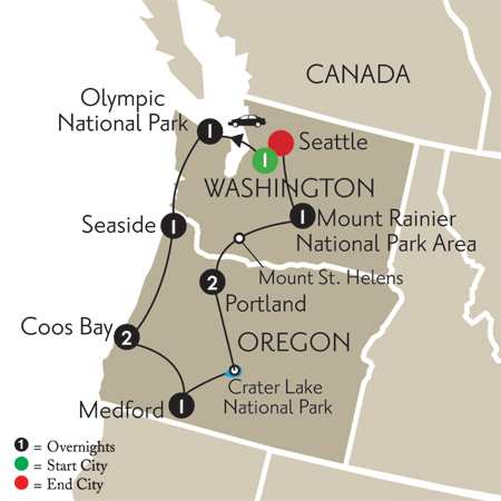 Treasures of the Pacific Northwest