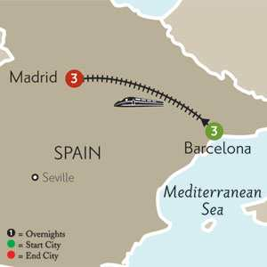Three Ways to Travel from Barcelona to Madrid