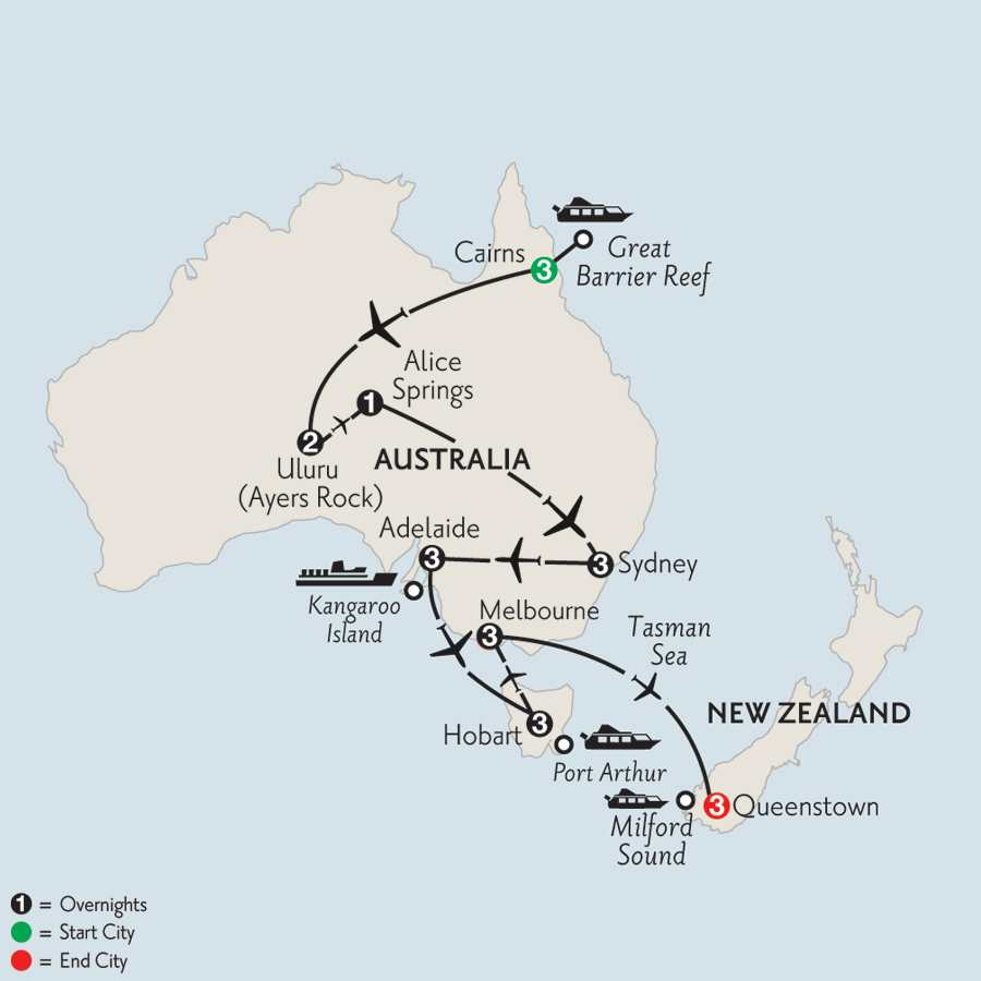 Southern Australia Explorer with Cairns, the Outback & Queenstown