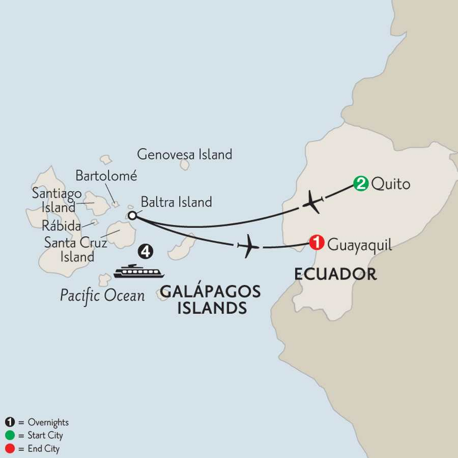 Cruising the Galápagos on board the La Pinta