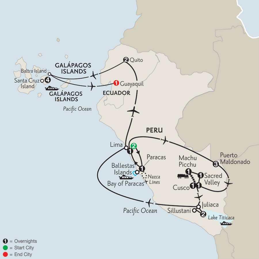 Galapagos - Amazon Family Vacation